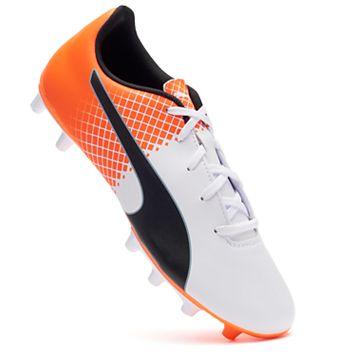 PUMA evoSPEED 5.5 Tricks Firm-Ground Jr. Boys' Soccer Cleats