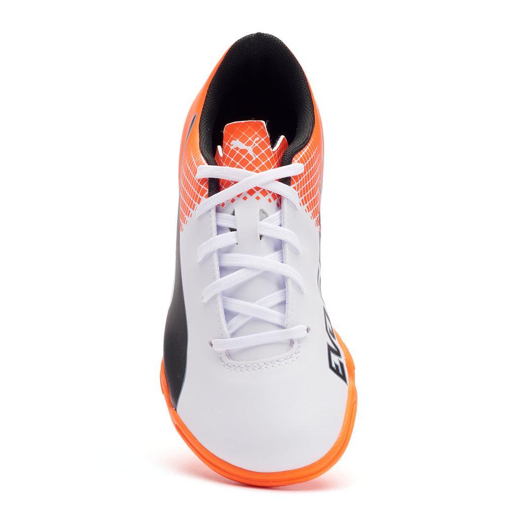 PUMA evoSPEED 5.5 It Jr. Boys' Indoor Soccer Shoes