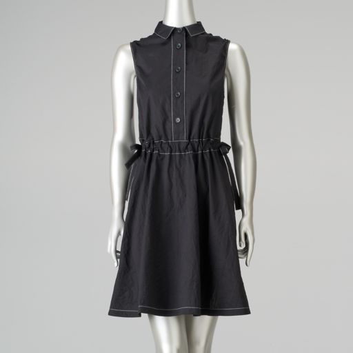 Women's Simply Vera Vera Wang Fit & Flare Shirtdress