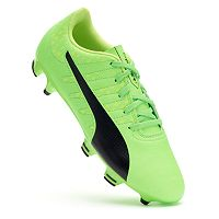 PUMA evoPOWER Vigor 4 Firm-Ground Jr. Grade School Boy's Soccer Cleats