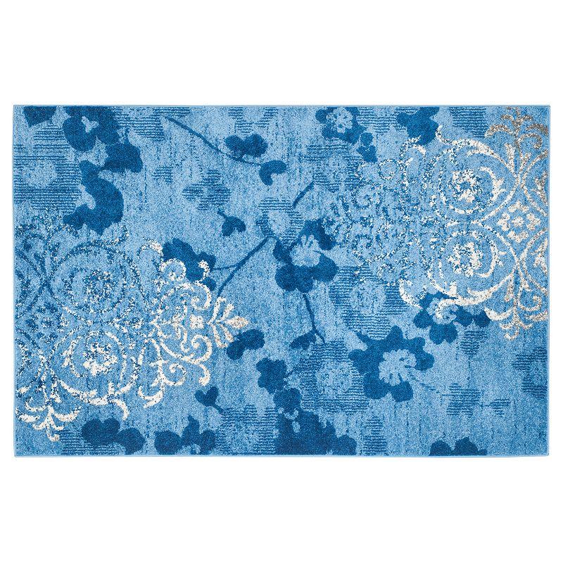 Safavieh Adirondack Tamara Floral Rug, Light Blue