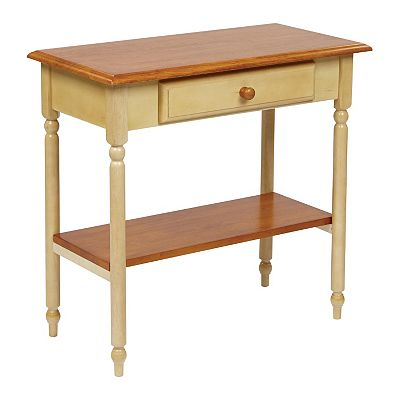 Home Star Products Country Cottage Foyer Table