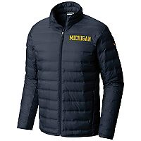 Men's Columbia Michigan Wolverines Collegiate Lake Jacket