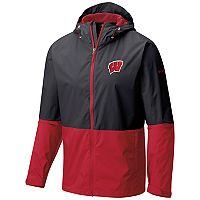 Men's Columbia Wisconsin Badgers Roan Mountain Jacket