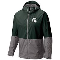 Men's Columbia Michigan State Spartans Roan Mountain Jacket