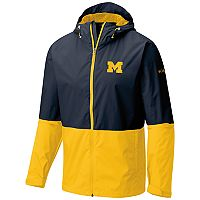 Men's Columbia Michigan Wolverines Roan Mountain Jacket