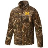 Men's Columbia Michigan Wolverines Flanker Camo Jacket