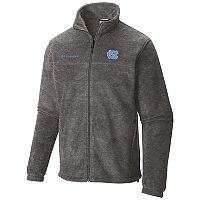 Men's Columbia North Carolina Tar Heels Flanker II Full-Zip Fleece