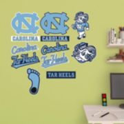 North Carolina Tar Heels Logo Wall Decals by Fathead