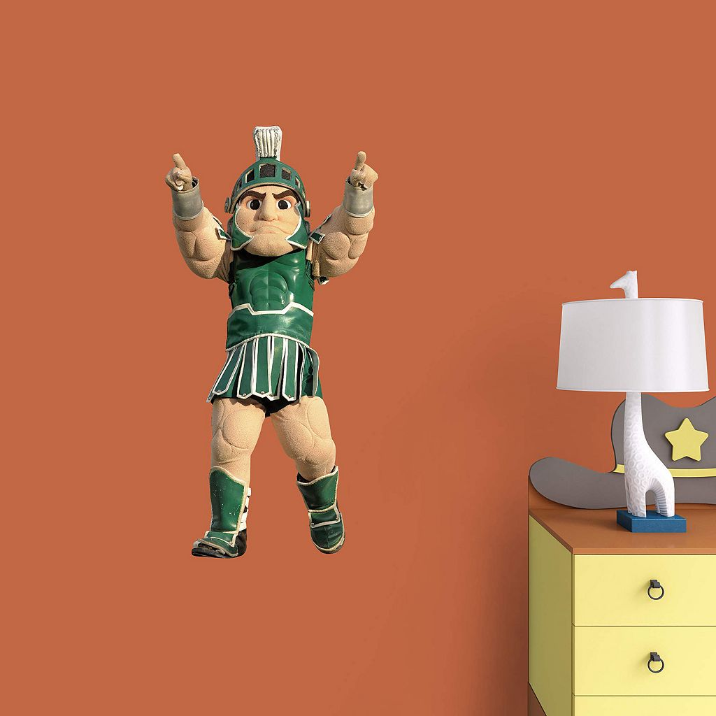 Michigan State Spartans Sparty Wall Decals by Fathead