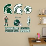 Michigan State Spartans Mascot & Logo Wall Decals by Fathead
