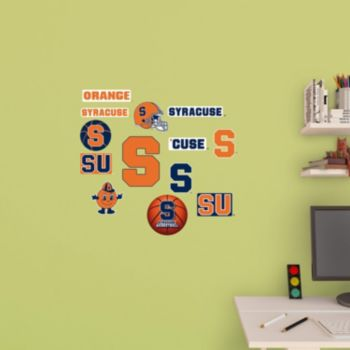Syracuse Orange Logo Wall Decals by Fathead