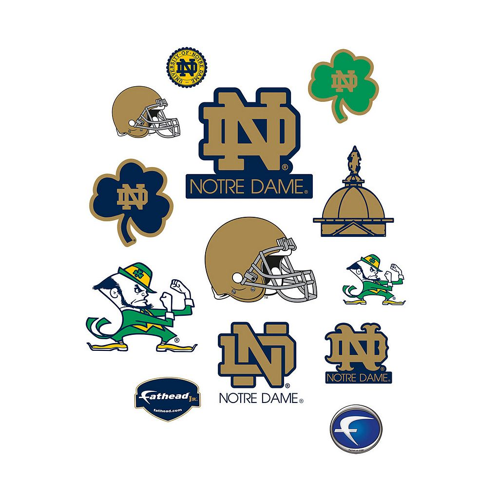 Notre Dame Fighting Irish Logo Wall Decals by Fathead