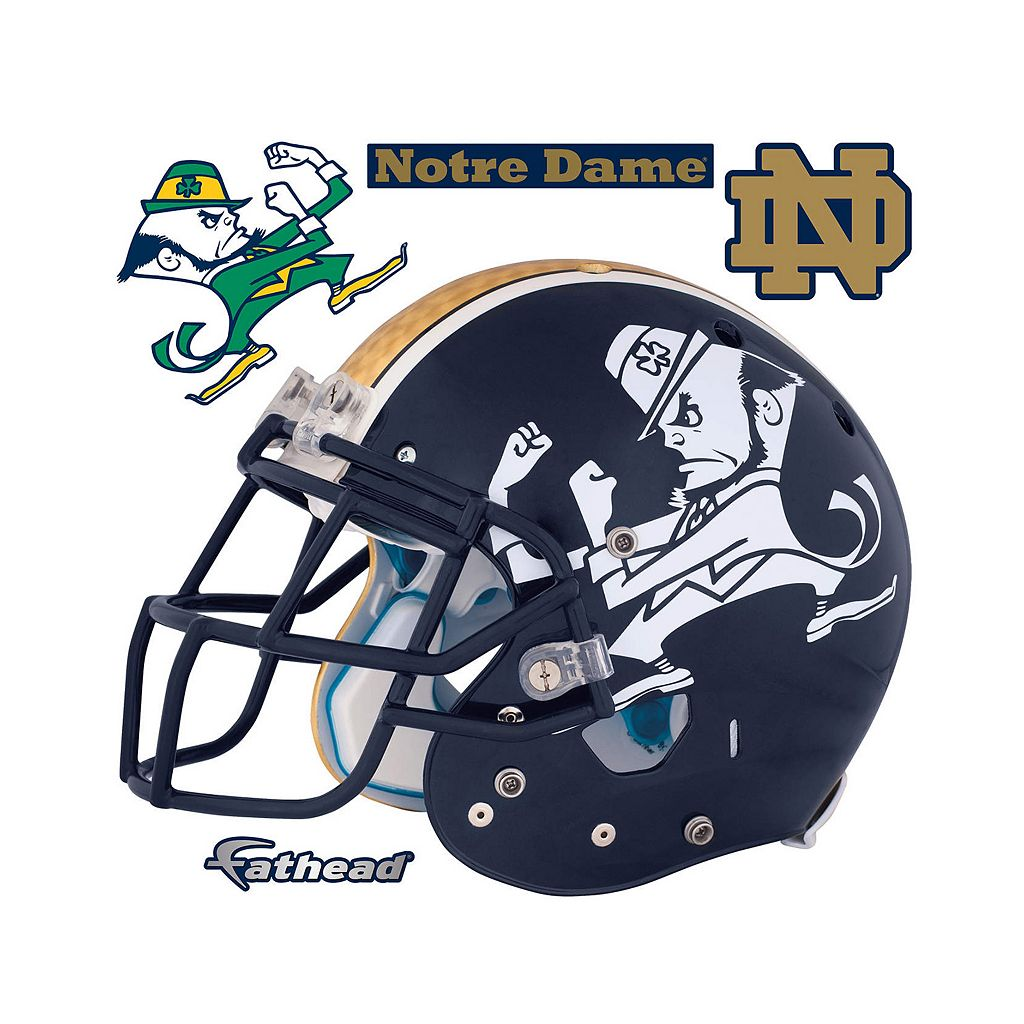 Notre Dame Fighting Irish Leprechaun Helmet Wall Decal by Fathead