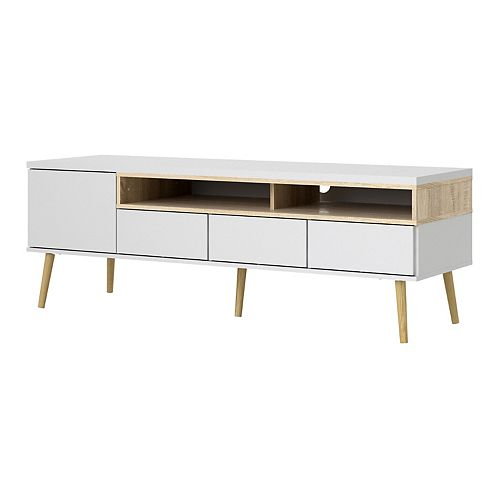 Aberdeen Two-Tone TV Stand