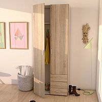 Space 2-Door Wardrobe Closet