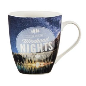 "Pfaltzgraff ""I Live For The Weekend Nights"" Mug"