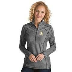 Women's Antigua Oakland Athletics Tempo Pullover