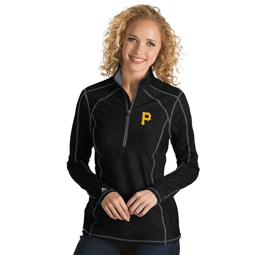 Women's Antigua Pittsburgh Pirates Tempo Pullover