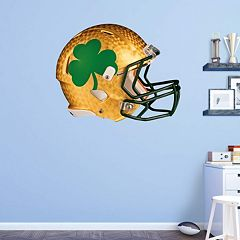 Notre Dame Fighting Irish Shamrock Helmet Wall Decal by Fathead