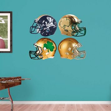 Notre Dame Fighting Irish Helmet Wall Decals by Fathead