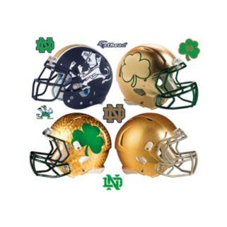 Notre Dame Fighting Irish Helmet Wall Decals by Fathead