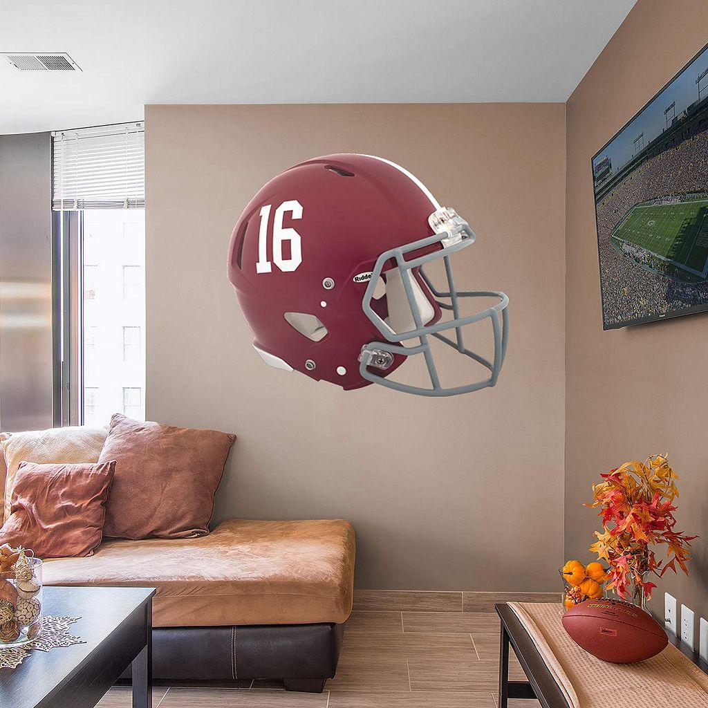 Alabama Crimson Tide Big Helmet Wall Decal by Fathead