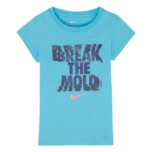 "Girls 4-6x Nike ""Break The Mold"" Tee"