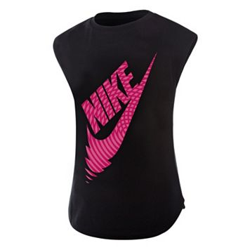 Girls 4-6x Nike Futura Reverberate Tee