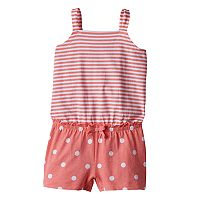 Toddler Girl Jumping Beans® Print Tank Romper