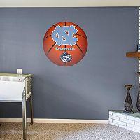 North Carolina Tar Heels Basketball Logo Wall Decal by Fathead