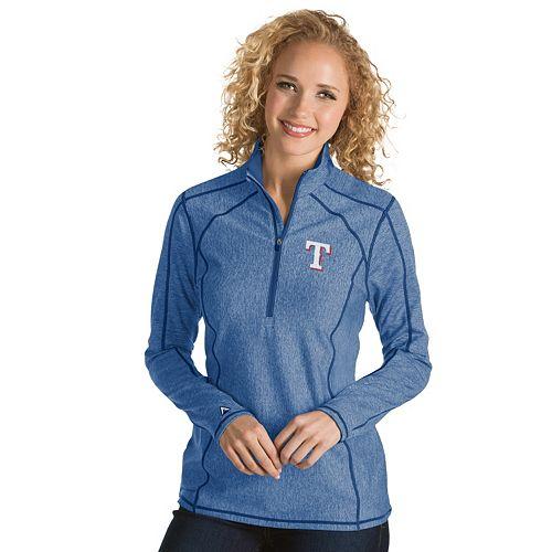 Women's Antigua Texas Rangers Tempo Pullover