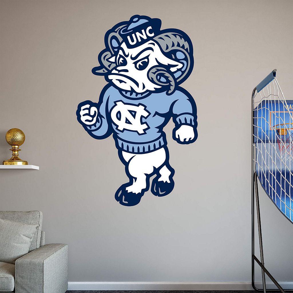 North Carolina Tar Heels Mascot Wall Decal by Fathead