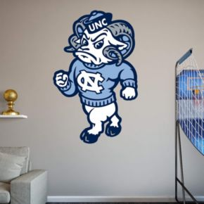 North Carolina Tar Heels Mascot Wall Decal by Fathead