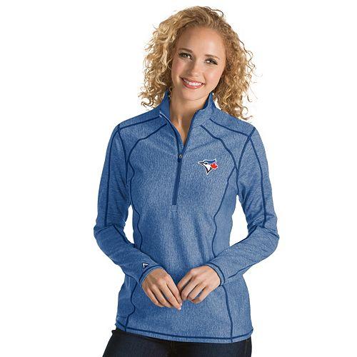 Women's Antigua Toronto Blue Jays Tempo Pullover