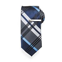 Men's Apt. 9® Skinny Tie with Tie Bar