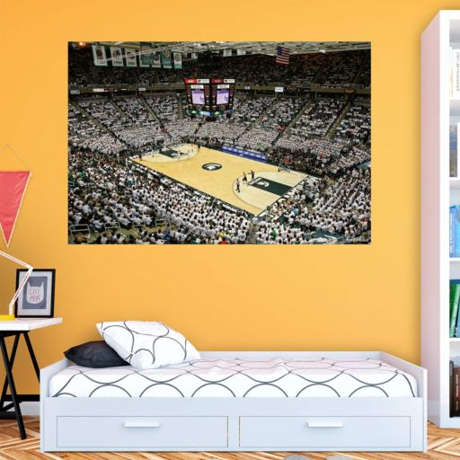 Michigan State Spartans Breslin Center Mural Wall Decal by Fathead