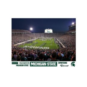 Michigan State Spartans Stradium Mural Wall Decal by Fathead