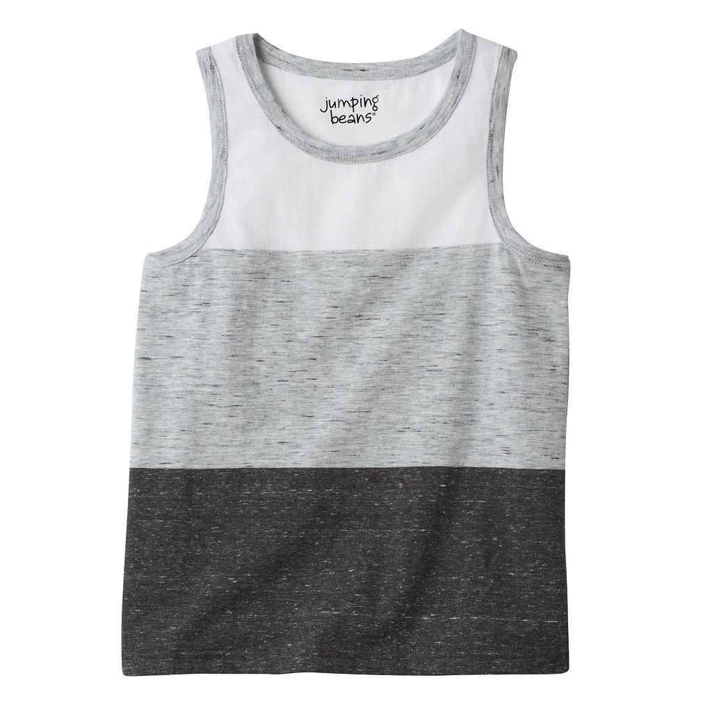Boys 4-10 Jumping Beans® Colorblock Tank Top