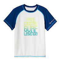 Boys 8-20 Free Country Surf Rashguard
