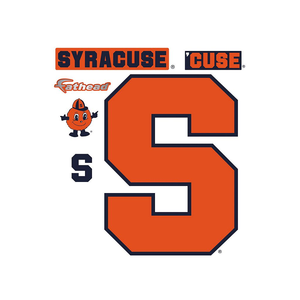 Syracuse Orange Logo Wall Decal by Fathead