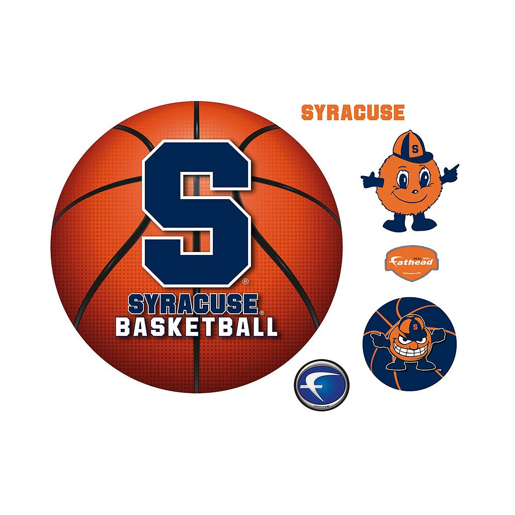Syracuse Orange Basketball Logo Wall Decal by Fathead