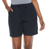 Women's Gloria Vanderbilt Lucy Sheeting Shorts