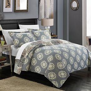 Kelsie Boho Print Quilt Set