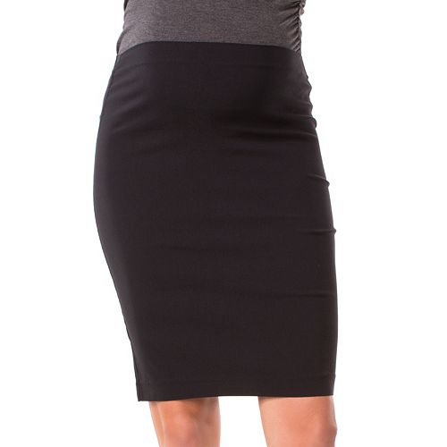 Maternity Pip & Vine by Rosie Pope Panel Pencil Skirt