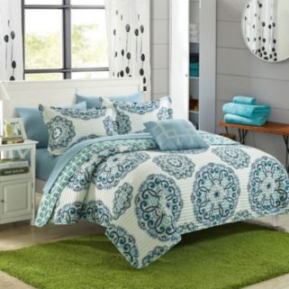 Madrid 4-piece Quilt Set
