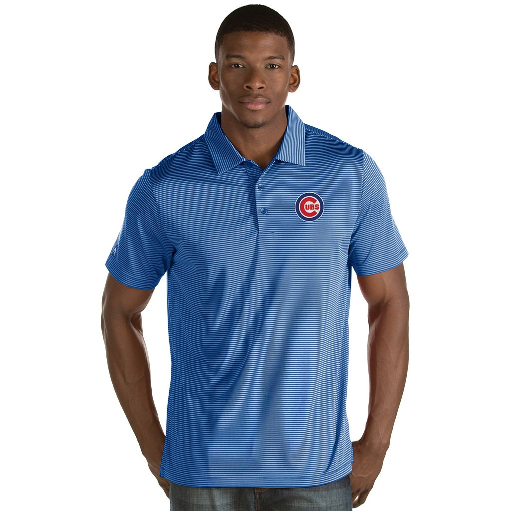 Men's Antigua Chicago Cubs Quest Polo