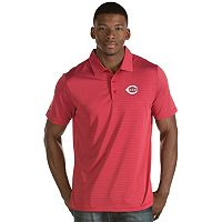 Men's Antigua Cincinnati Reds Quest Polo
