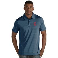 Men's Antigua Cleveland Indians Quest Polo