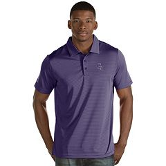 Men's Antigua Colorado Rockies Quest Polo